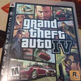 BD PS3 Grand Theft Auto (GTA) IV second
