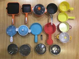 Kitchen Cookware Pan Pot Toy Set