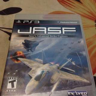 BD PS3 JASF (Jane's Advanced Strike Fighters) second