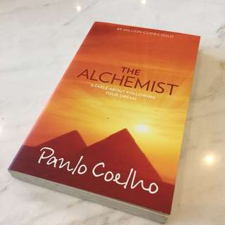 The Alchemist by Panlo Coelho