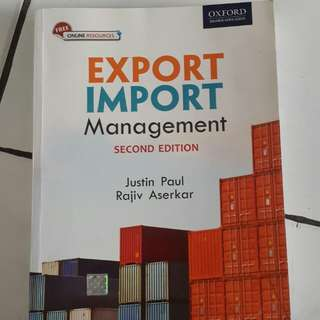 Export Import Management *Second Edition