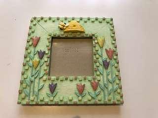 Green Ceramic Picture Frame