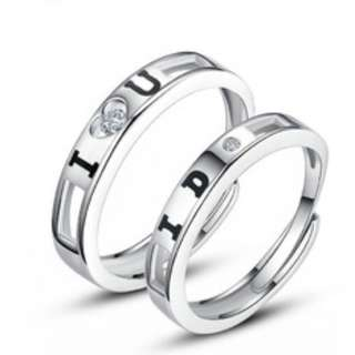 Sliver 925 Couple Ring(CR-012)