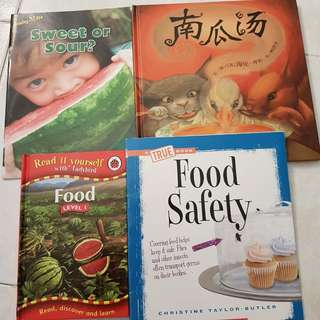 Books about foods