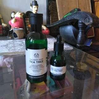 The Body Shop Tea Tree Toner dan Serum
