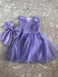 Purple dress/ gown