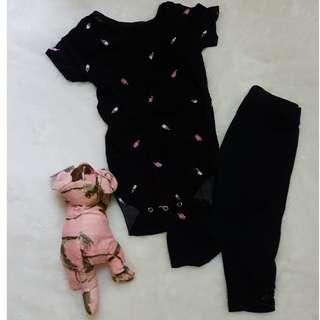 Black set (jumper + legging)