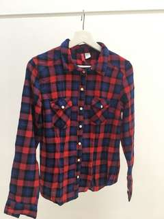 HM Tartan Shirt