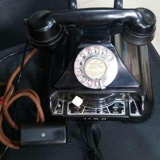古董攪盤電話 保用半年