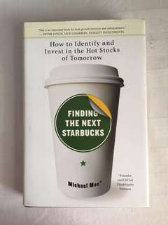 How to identify and invest in hot stock - Finding the Next Starbucks (book on investment)