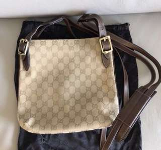 Gucci monogram 袋