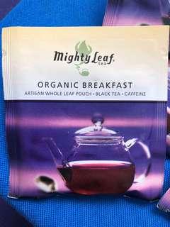Mighty leaf tea bag