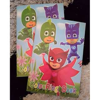 PJ Masks Colouring Book