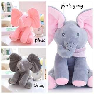 Boneka gajah elektrik