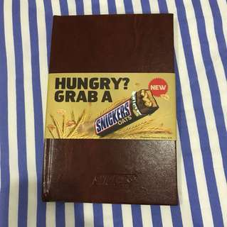 Snickers 2018 planner