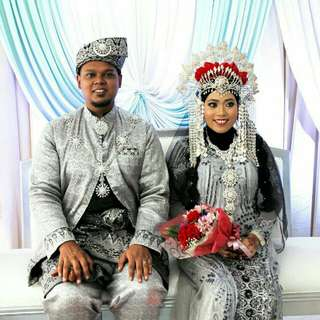 Songket Bridal Outfit