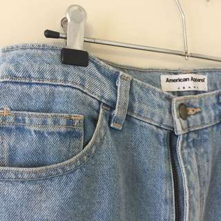 American Apparel High Waist Jeans