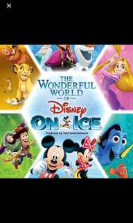 1 Disney On Ice Cat 1 (Row 6) Ticket for March 15, 2018 at 7pm