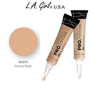 LA Girl Pro Concealer - creamy beige