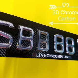 Carplate licence plate lorry panel sticker
