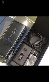 Samsung S8+ 128G 99%新 Full set連mon貼同套