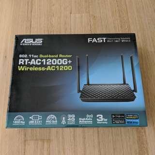 ASUS RT-AC1200G+ 802.11ac Dual-Band Router BNIB