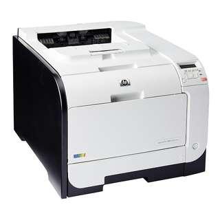Hp Laserjet Pro 400 M451dn with original toner