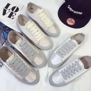 Size 35-40 Silk Canvas Shoes