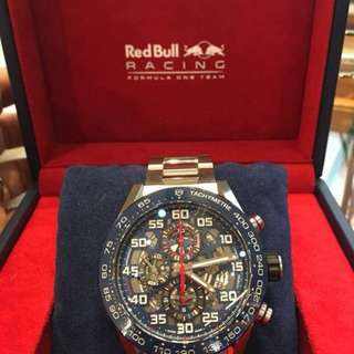 Tag heuer red bull racing watch