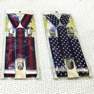 Baby suspender clip on