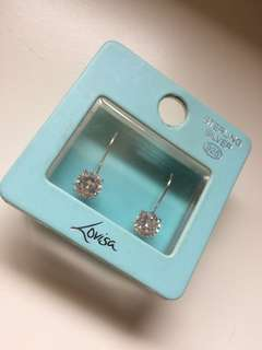 Lovisa crystal Sterling silver earrings
