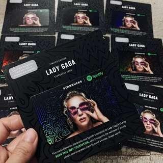 Lady Gaga Starbucks Card Limited Edition