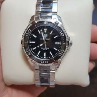 Tag Heuer watch original authentic jam tangan tipe WAY 131G diamond