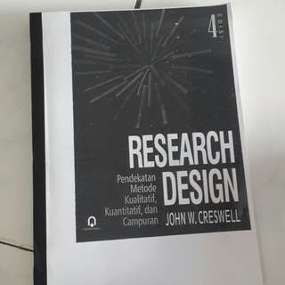 Research Design *Fourth Edition