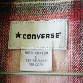 Kemeja Flanel Converse