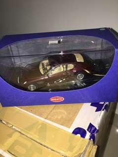 1/43 Bugatti EB118 Genf 2000. Dark Red Metallic. AutoArt