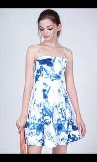 MDS Rhona Floral Dress