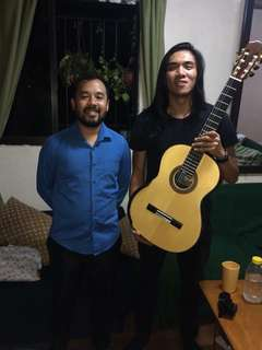 Sold to MARK P.,UST GUITAR STUDENT