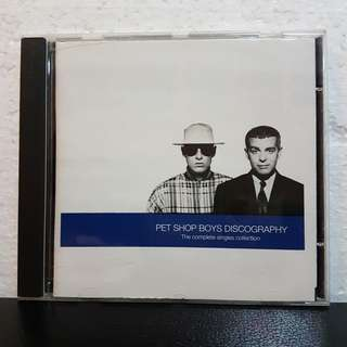 Reserved: CD》Pet Shop Boys Discography