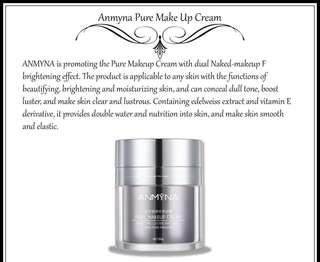 Anmyna Pure Makeup Cream 素颜霜