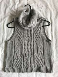 All about Eve wool vest 6