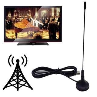 High Quality 5dBi 174-230 and 470-862 MHz Digital DVB-T TV Freeview HDTV Antenna Aerial Amplifier Antena TV Indoor HDTV Antennas
