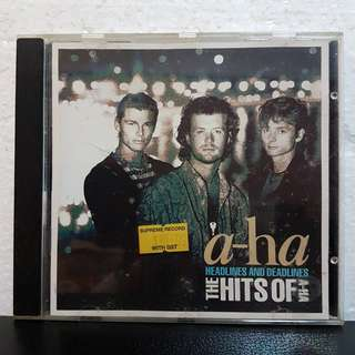 Reserved:CD>The Hits Of A-Ha- Headlines & Deadlines