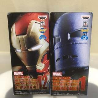 WCF Ironman C3 X Hobby Event Limited Item - Set of 2 - NO DISCOUNT