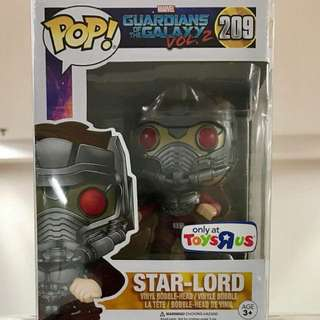 Funko Pop Star-Lord Toys R Us exclusive