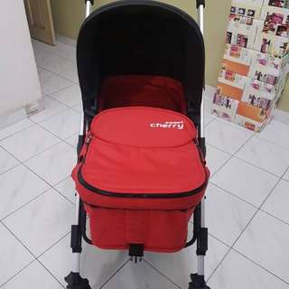 [promo] Sweet Cherry Red Stroller