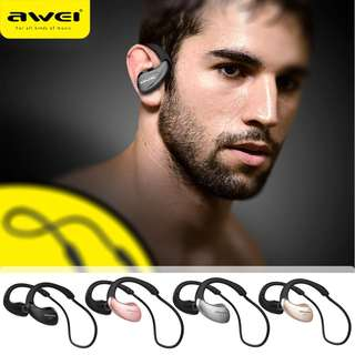[Authentic]Awei A885BL Wireless Sports Headphone Bluetooth Stereo Music Earphone Handsfree Headset fone de ouvido Auriculares With Mic &NFC
