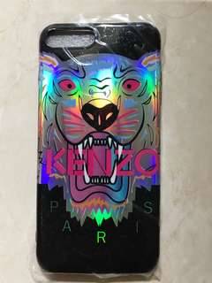 Kenzo Softcase for Iphone 7+ (7 plus)