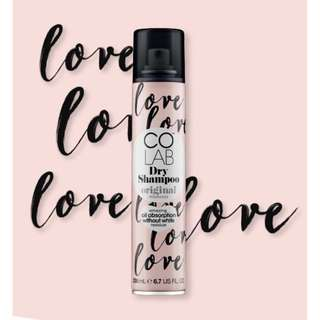 Invisible Dry Shampoo in Original Fragrance Scent by CoLab. Awarding Winning!