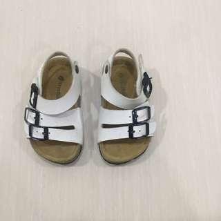 Baby white sandal